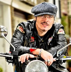Adam Ant On Bikes Adam Ant is one of the most iconic British pop stars of all time. Ant Music, Adam Ant, Mickey Rourke, My Prince Charming, Living In La, Gretsch, Ants, In Hollywood, My Dad