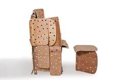 Cadeira Barraco, de Rodrigo Almeida
