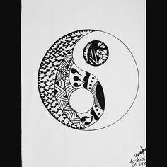 #yin #yang #draw