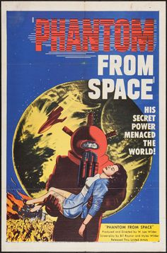 Movie Posters:Science Fiction, Phantom from Space (United Artists, 1953). One Sheet (27 X 41).Science Fiction.. ... Image #1