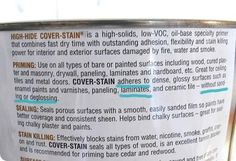 Zinser high hide cover stain allows you to repaint furniture WITHOUT sanding, even laminate!!!!.........can I get a booyah!!!!!!