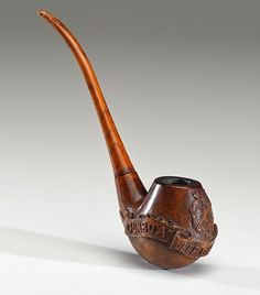 Civil War carved pipes highlight Cowan's July auction