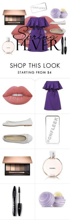 """""""#onfleek"""" by ashfur123 on Polyvore featuring Lime Crime, DIENNEG, River Island, Chanel, Lancôme and Eos"""