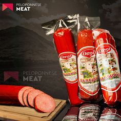 Pepperoni Sausage from Pork & Beef - Luncheon - Cold Cuts - Cured Meat 250g FOB Price: EUR 6.7 - 6.9 / Kilogram Cold Cuts, Ketchup, Pepperoni, Sausage, The Cure, Pork, Beef, Kale Stir Fry, Meat
