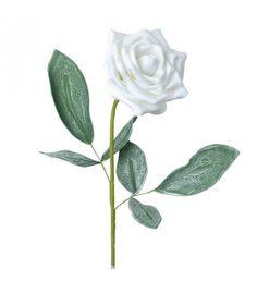 ROSE_BRANCH IN WHITE COLOR H:80