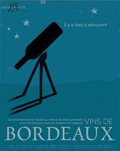 Belle campagne de la #Bordeaux #advertisment #wine Wine Poster, Jazz Art, France 3, Wine Art, Wine Design, Creative Advertising, Wine Label, Less Is More, Print Logo