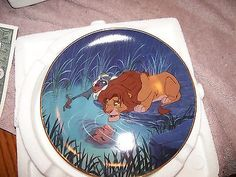 Bradford Exchange lion king/ the king within plate