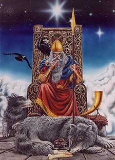 Your number one source for info about the Vikings & Norse Mythology who was the Vikings and what was the name of their Gods and Goddesses, read it all here! Odin Norse Mythology, Norse Pagan, Old Norse, German Mythology, Viking Art, Viking Warrior, Viking Woman, Odin Allfather, Viking People