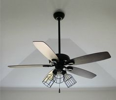 I found ceiling fan shopping to be one of the most stressful parts of renovation: how can all of them be so tacky and so expensive Diy Metal, Painting Ceiling Fans, Ceiling Decor, Colorful Apartment, Copper Fittings, Ceiling, Diy Design, Diy Fan, Ceiling Fan