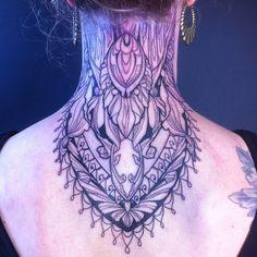Thank you Janis! #neckpiece #ornament #mandala #mandalatattoo #draw #sketch #tattooflash #tattsandinkers #tattoo #tattoos #tat #ink #inked #tattooed #tattoist  #art #design #instaart #germantattooers #myworldofink  #tatted #instatattoo #bodyart #tatts #tats  #tattedup #rta #blackoakstattoo