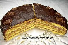 Rezept Prinzregententorte auf Mamas Rezepte Homepage