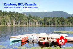 Canada's Most Beautiful Lake Communities. #Youbou, British Columbia, Canada.