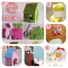 12 imprimibles para hacer cajitas de regalos | Decorar tu casa es facilisimo.com