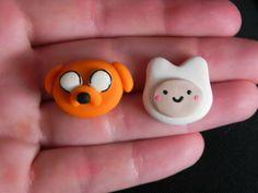 Jake and Finn Earrings by TheHappyFactory118 on Etsy http://www.etsy.com/listing/104299978/jake-and-finn-earrings
