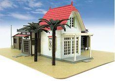 Buildings - Papercraft4u | Free Papercrafts, Paper Toys, Paper Models, Gratis