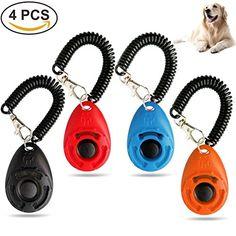 b72c9d2d01 Ownpets Dog Training Clicker with Wrist Strap - Pet Train... https
