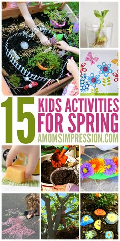 Looking for some fun spring activities for kids? These activities are great for preschool kids and more. You'll find everything from lemon DIY bath bombs to rock painting! Spring Activities, Fun Activities For Kids, Craft Activities, Outdoor Activities, Family Activities, Spring Crafts For Kids, Projects For Kids, Toddler Crafts, Kids Crafts