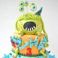 I like a combination of these Monster Cakes