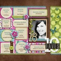 Love this layout, will have to do for my bday