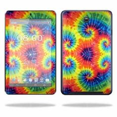 Mightyskins Protective Skin Decal Cover for Asus MeMO Pad HD 7 Tablet wrap sticker skins Tie Dye 2