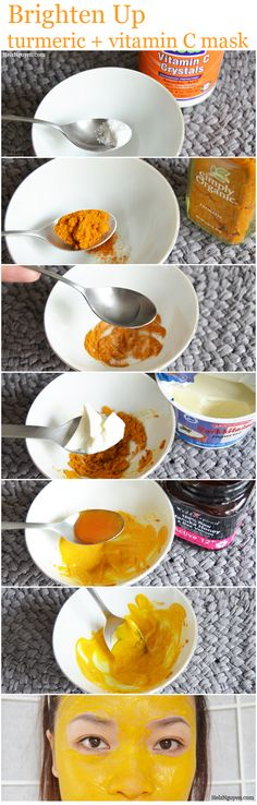 Brighten Up Turmeric and Vitamin C Mask DIY, Helen Helz Nguyen