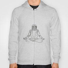 Astronaut Lotus Position Mandala Hoody by patrimonio Lotus Position, Hoody, Astronaut, Retro Fashion, Mandala, Positivity, Tees, Sweaters, T Shirt