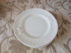 Vintage Plates, Set of 6 vintage dessert plates, italian ceramic, made in Italy