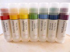 Lip Balm Rainbow Lip Balm 7 Pack by TheMarulaTreeSoapCo