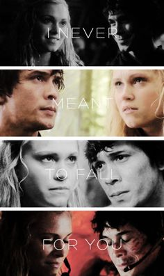 I hate myself I little more ever time I use the word ship or bellark or any other relationship name from any other show but I just can't help it I love Bellamy and Clarke so much!