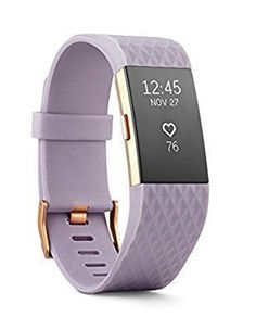 Amazon.com: Fitbit Charge 2 Heart Rate + Fitness Wristband, Special Edition, Lavender Rose Gold, Small (US Version): Health & Personal Care #goldrate #goldrateindia
