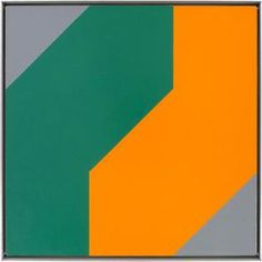 """Frederick Hammersley, Me and thee, oil on linen, 24 x 24 inches, 61 x 61 cm, courtesy Ameringer McEnery & Yoe  Caleb de Jong reviews the exhibition Frederick Hammersley: Organic & Geometric at Ameringer McEnery & Yoe on view through October 8, 2011.  De Jong writes that """"Hammersley - who served in the military in WWII and studied in the Ecole de Beux-Arts in Paris where he met Picasso and Braque - fits more easily as an honorary late figure in the School of Paris. Hammersley's simple use of…"""