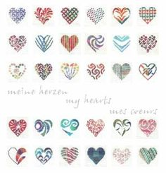 click here to view larger image of My Hearts (chart)