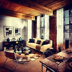 This is #living. #livingroom #home #homedecor #apartments #lofts #haverhillma
