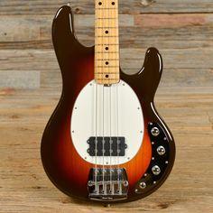 Ernie Ball Music Man Sting Ray Bass Sunburst USED (s839)