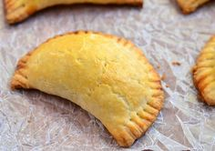 Try this Beef Empanada recipe! With a delicious savory filling encased in a buttery, flaky crust, these meat hand pies make a great snack, game day food or a light meal and are sure to be a family favorite. Mexican Food Recipes, Beef Recipes, Cooking Recipes, Mexican Dishes, Family Recipes, Asian Recipes, Recipies, Crescent Rolls, Churros