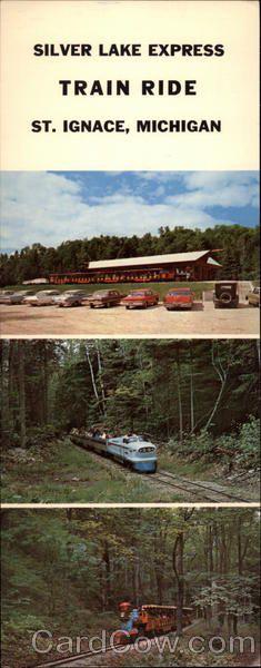 Silver Lake Express Train Ride Saint Ignace Michigan