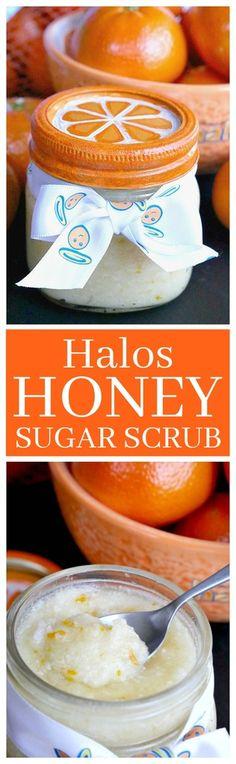 Halos Honey Sugar Scrub