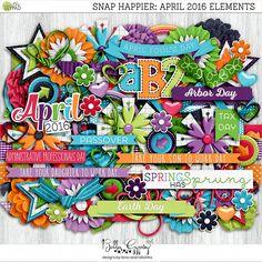 Snap Happier: April 2016 Elements by Bella Gypsy Designs