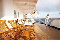 The Marco Polo: a small ship that's big on relaxation and entertainment throughout the day and into the evening