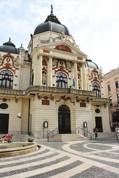 The Hungarian National Theater, Pécs, Hungary ... Book & Visit HUNGARY now via www.nemoholiday.com or as alternative you can use hungary.superpobyt.com.... For more option visit holiday.superpobyt.com
