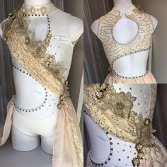 Designer Wardrobe Collection at Classically Costumed - 2016 for sale Cute Dance Costumes, Dance Costumes Lyrical, Dance 4, Dance Wear, Pole Dance, Stills For Sale, Cream And Gold, Lyrics, One Piece