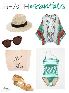 Affordable and cute beach essentials for this summer!