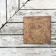 LIVE LAUGH LOVE String Art by SBDesignShop on Etsy