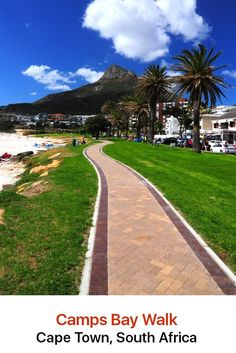 In Camps Bay, Cape Town you will find plenty of delicious little sidewalk cafes and top range restaurants along Victoria Road where you can dine on terraces overlooking the beach. Travel Pictures, Travel Photos, Travel Tips, Travel Plan, Travel Advice, Places Around The World, Around The Worlds, Places To Travel, Places To Go