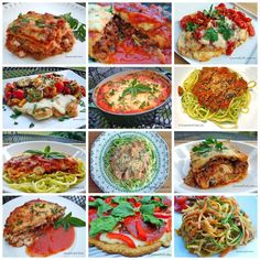 Gourmet Girl Cooks: 16 Low Carb Italian Recipes - A Collection of My F...