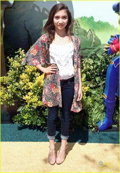 Rowan Blanchard at 'Legends of Oz' Premiere!