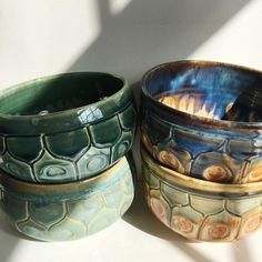 Again, that blue and brown! So pretty! Instagram photo by @pitchpinepottery
