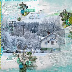 New Years Day by Rae at The Lilypad using digital scrapbooking products from The Lilypad