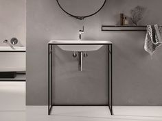 Rechteckiges Einzel- Waschbecken aus emailliertem Stahl BETTELUX SHAPE Kollektion Einbauwaschtisch by Bette | Design Tesseraux   Partner