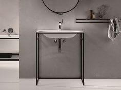 Rechteckiges Einzel- Waschbecken aus emailliertem Stahl BETTELUX SHAPE Kollektion Einbauwaschtisch by Bette   Design Tesseraux   Partner